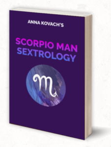The Scorpio Man Sextrology book by Anna Kovach