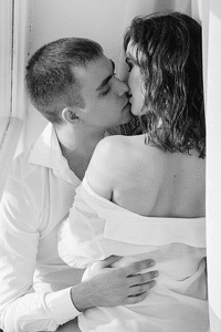 Scorpio man and Taurus woman in bed