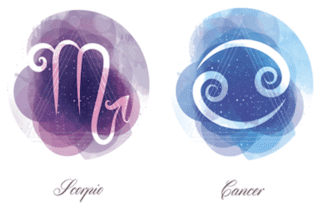 Scorpio and Cancer zodiac signs