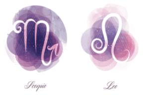 Scorpio and Leo zodiac signs