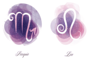 Scorpio and Leo zodiac signs